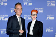 Christopher Peterson and Sandy Powell attend the Variety Artisan's Awards during the 35th Santa Barbara International Film Festival at the Lobero Theatre on January 19, 2020 in Santa Barbara, California.