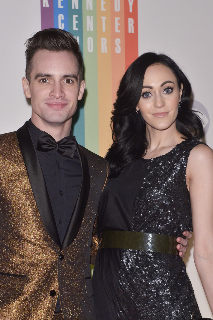 how did audrey kitching and brendon urie meet