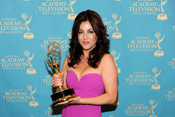 Julie Pinson 37th Annual Daytime Emmy Awards - Trophy Room