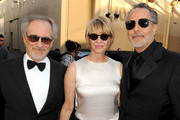 AFI Board Member Steven Spielberg, Kate Capshaw, and AFI Vice-Chairman Producer Jon Avnet arrive at the 38th AFI Life Achievement Award honoring Mike Nichols held at Sony Pictures Studios on June 10, 2010 in Culver City, California. The AFI Life Achievement Award tribute to Mike Nichols will premiere on TV Land on Saturday, June 25 at 9PM ET/PST.