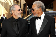 Producer Jon Avnet (L) and 39th Life Achievement Award recipient Morgan Freeman arrive at the 39th AFI Life Achievement Award honoring Morgan Freeman held at Sony Pictures Studios on June 9, 2011 in Culver City, California. The AFI Life Achievement Award tribute to Morgan Freeman will premiere on TV Land on Saturday, June 19 at 9PM ET/PST.
