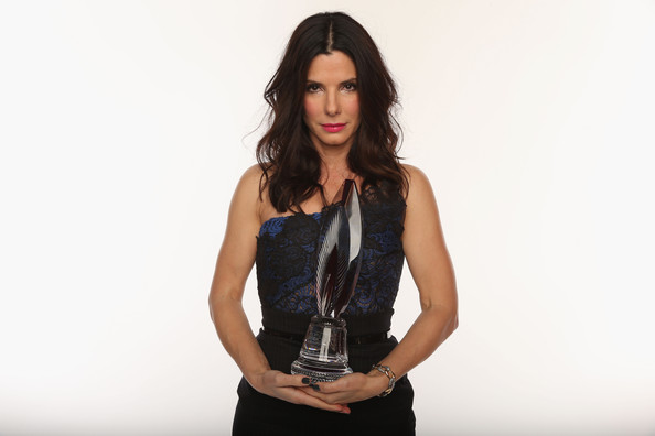 Actress Sandra Bullock poses for a portrait during the 39th Annual People's Choice Awards at Nokia Theatre L.A. Live on January 9, 2013 in Los Angeles, California.