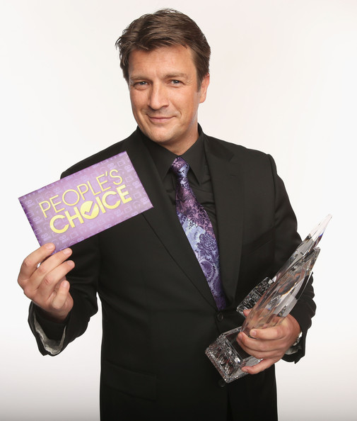 Actor Nathan Fillion poses for a portrait during the 39th Annual People's Choice Awards at Nokia Theatre L.A. Live on January 9, 2013 in Los Angeles, California.