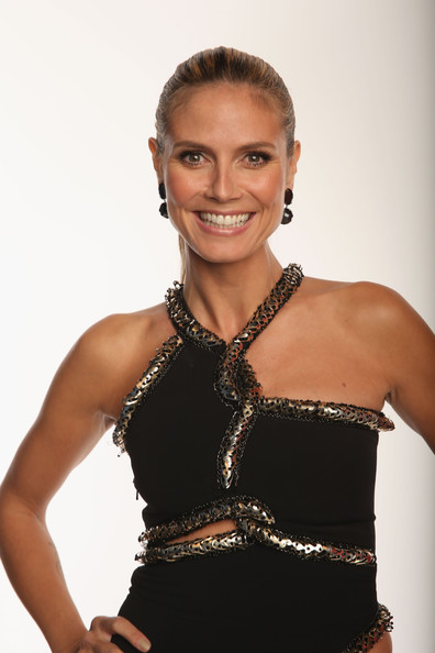 Model Heidi Klum poses for a portrait during the 39th Annual People's Choice Awards at Nokia Theatre L.A. Live on January 9, 2013 in Los Angeles, California.