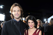 Actors Jared Padalecki and Genevieve Padalecki attend the 34th Annual People's Choice Awards at Nokia Theatre L.A. Live on January 9, 2013 in Los Angeles, California.