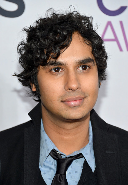 Actor Kunal Nayyar attends the 34th Annual People's Choice Awards at Nokia Theatre L.A. Live on January 9, 2013 in Los Angeles, California.