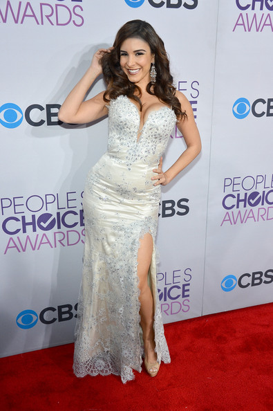 Model Mayra Veronica attends the 39th Annual People's Choice Awards at Nokia Theatre L.A. Live on January 9, 2013 in Los Angeles, California.