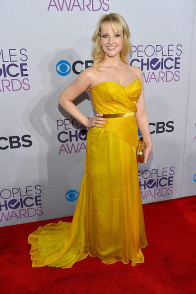 Actress Melissa Rauch attends the 39th Annual People's Choice Awards at Nokia Theatre L.A. Live on January 9, 2013 in Los Angeles, California.