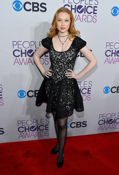 a454c6608d Molly C. Quinn in 39th Annual People s Choice Awards - Red Carpet ...