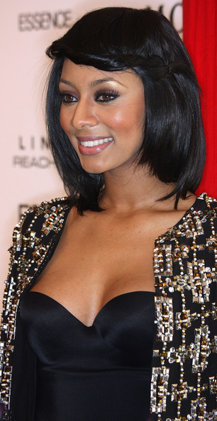 Kerri Hilson Hairstyles. Ms. Keri Hilson looked amazing