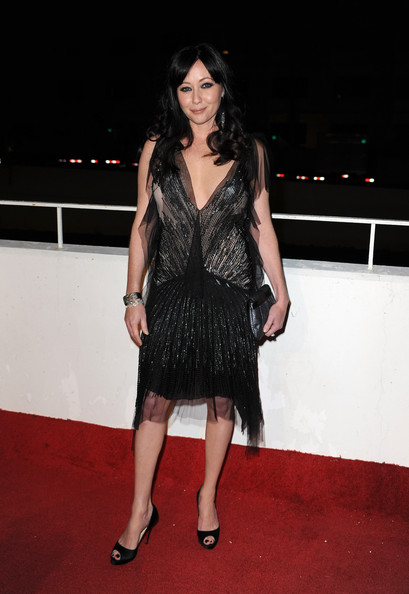 "Actress Shannen Doherty arrives at the 3rd Annual Art Of Elysium ""Heaven"" Gala Event in Beverly Hills on January 16, 2010 in Los Angeles, California."