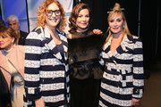 (L-R) Judy Gold, Countess Luann and Sonja Morgan prepare backstage during the The 3rd Annual Blue Jacket Fashion Show Benefitting The Prostate Cancer Foundation at Pier 59 Studios on February 7, 2019 in New York City, NY.