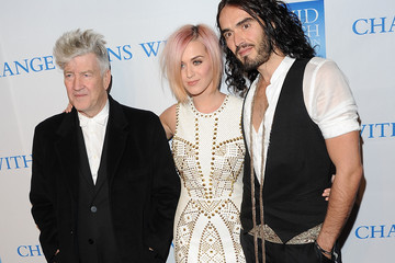 """David Lynch Russell Brand 3rd Annual """"Change Begins Within"""" Benefit Celebration - Arrivals"""