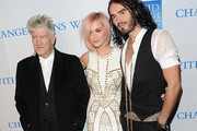 David Lynch and Russell Brand Photos Photo