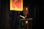 Analeigh Tipton speaks onstage during the 3rd annual Kodak Awards at Hudson Loft on February 15, 2019 in Los Angeles, California.