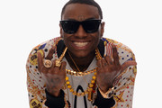 Rapper Soulja Boy poses for a portrait in the TV Guide Portrait Studio at the 3rd Annual Streamy Awards at Hollywood Palladium on February 17, 2013 in Hollywood, California.