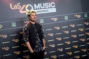 Dani Martin attends 40 Principales Awards candidates dinner 2017 on September 14, 2017 in Madrid, Spain.