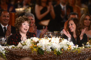 Honoree Shirley MacLaine and Julia Roberts attend the 40th AFI Life Achievement Award honoring Shirley MacLaine held at Sony Pictures Studios on June 7, 2012 in Culver City, California. The AFI Life Achievement Award tribute to Shirley MacLaine will premiere on TV Land on Saturday, June 24 at 9PM ET/PST.