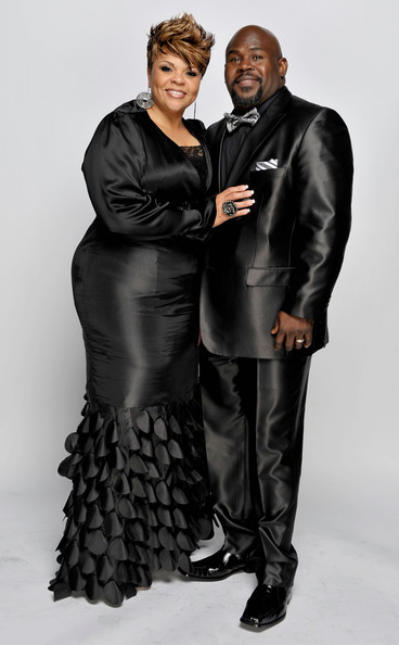 David Mann Singer Tamela Mann and husband David Mann pose for a