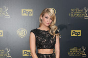 Actress Kim Matula attends The 42nd Annual Daytime Emmy Awards at Warner Bros. Studios on April 26, 2015 in Burbank, California.