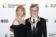 Kate Spielberg and Steven Spielberg   attend the 2019 Kennedy Center Honors at The Kennedy Center on December 08, 2019 in Washington, DC.