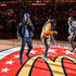 Quavo Kiari Kendrell Cephus Photos - Offset, Takeoff and Quavo of Migos perform during the 42nd Annual McDonald's All American Games at State Farm Arena on March 27, 2019 in Atlanta, Georgia. - 42nd Annual McDonald's All American Games
