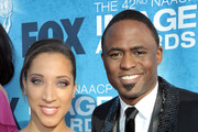 Actors Robin Thede and Wayne Brady arrive at the 42nd NAACP Image Awards held at The Shrine Auditorium on March 4, 2011 in Los Angeles, California.