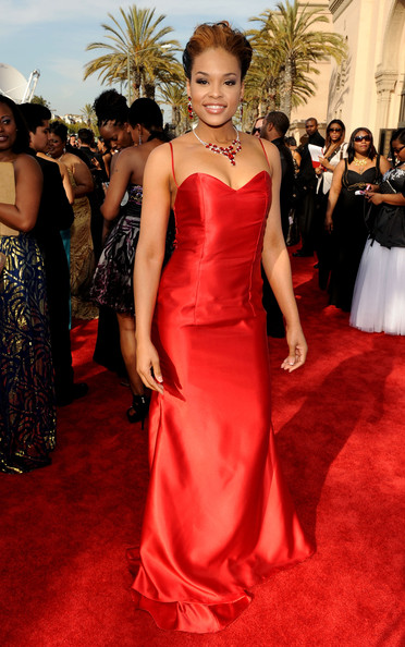 Actress Demetria McKinney arrives at the 42nd NAACP Image Awards held at The Shrine Auditorium on March 4, 2011 in Los Angeles, California.