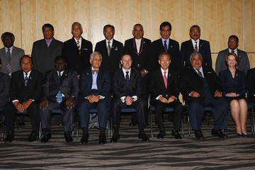 Danny Philip 42nd Pacific Islands Forum Takes Place In Auckland - Day 2