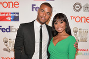 Actors Redaric Williams and Angell Conwell attend the 45th NAACP Awards Non-Televised Awards Ceremony at the Pasadena Civic Auditorium on February 21, 2014 in Pasadena, California.
