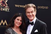 Lisa Oz and Dr. Mehmet Oz attend the 46th annual Daytime Emmy Awards at Pasadena Civic Center on May 05, 2019 in Pasadena, California.