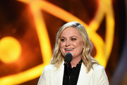 Amy Poehler speaks onstage at the 46th annual Daytime Emmy Awards at Pasadena Civic Center on May 05, 2019 in Pasadena, California.