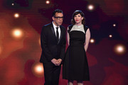 Actors Fred Armisen and Carrie Brownstein speak onstage during the 4th Annual Critics' Choice Television Awards at The Beverly Hilton Hotel on June 19, 2014 in Beverly Hills, California.