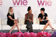 Kristy Caylor, Esperanza Spalding and Ghislaine Maxwell attend day 1 of the 4th Annual WIE Symposium at Center 548 on September 20, 2013 in New York City.