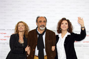 (L-R) Actors Amanda Sandrelli, Alessandro Haber and director Stefania Sandrelli attend the 'Christine, Cristina' Photocall during day 5 of the 4th Rome International Film Festival held at the Auditorium Parco della Musica on October 19, 2009 in Rome, Italy.