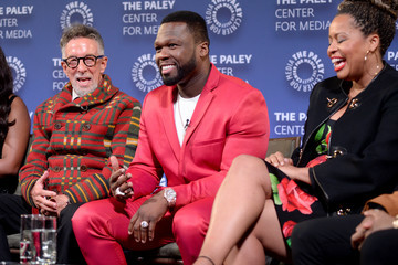 50 Cent Power Series Finale Episode Screening At Paley Center