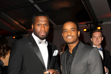 50 Cent Larenz Tate The Weinstein Company and Netflix Golden Globes Party