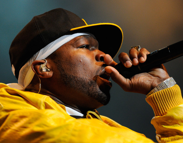 50 Cent Performs At The Palms
