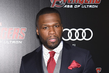 50 Cent The Cinema Society Screening Of Marvel's 'Avengers: Age of Ultron' - Arrivals