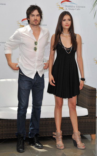 Nina Dobrev Actors Nina Dobrev and Ian Somerhalder attend a photocall for the TV series 'THE VAMPIRE DIARIES' during the 2010 Monte Carlo Television Festival held at Grimaldi Forum on June 8, 2010 in Monte-Carlo, Monaco.