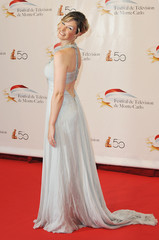 Louise Ekland 50th Monte Carlo TV Festival Opening Ceremony