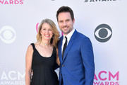 Patty Hanson (L) and recording artist-actor Charles Esten attend the 52nd Academy Of Country Music Awards at Toshiba Plaza on April 2, 2017 in Las Vegas, Nevada.