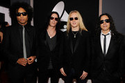 Musicians William Duvall, Sean Kinney, Jerry Cantrell and Mike Inez from the band Alice in Chains arrives at the 52nd Annual GRAMMY Awards held at Staples Center on January 31, 2010 in Los Angeles, California.