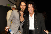Alice Cooper and Russell Brand Photos Photo