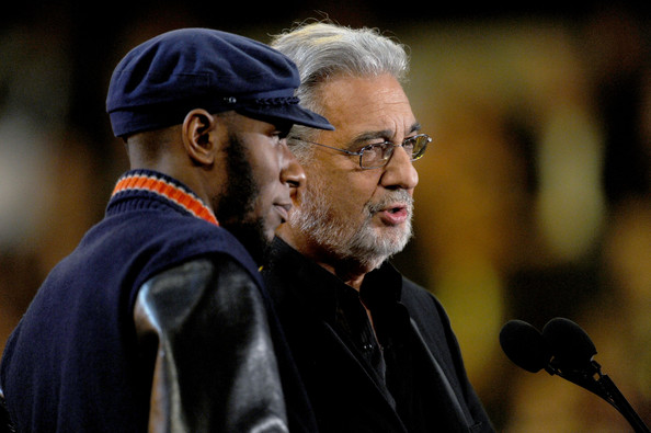 Mos Def Rapper/actor Mos Def (L) and singer Placido Domingo present ...