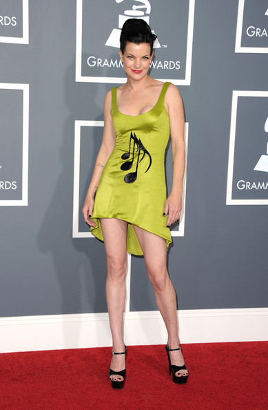 Actress Pauley Perrette arrives at The 53rd Annual GRAMMY Awards held at Staples Center on February 13, 2011 in Los Angeles, California.