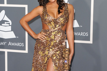 Aleesia The 53rd Annual GRAMMY Awards - Arrivals
