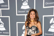 Zarah arrives at The 53rd Annual GRAMMY Awards held at Staples Center on February 13, 2011 in Los Angeles, California.