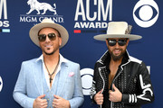 Chris Lucas and Preston Brust of LOCASH attends the 54th Academy Of Country Music Awards at MGM Grand Hotel & Casino on April 07, 2019 in Las Vegas, Nevada.