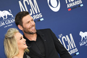 (L-R) Carrie Underwood and Mike Fisher attend the 54th Academy Of Country Music Awards at MGM Grand Hotel & Casino on April 07, 2019 in Las Vegas, Nevada.